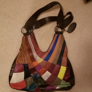 Wilsons Leather Patchwork Bag